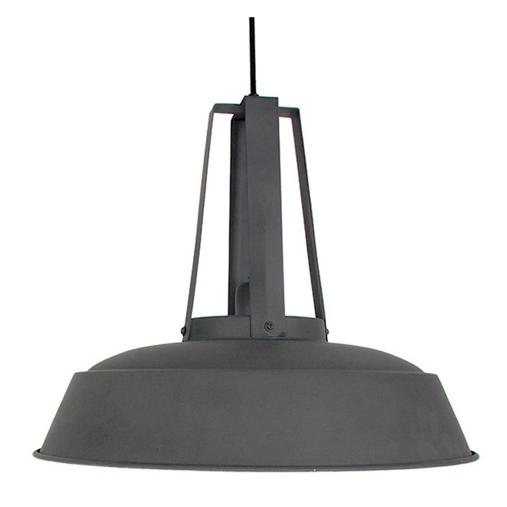 Grau-hangeleuchte-industrielle