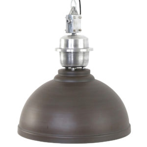 Opvallende-grote-hanglamp-chocoladebruin