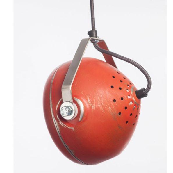 Industrie-Pendelleuchte Starlight Rot