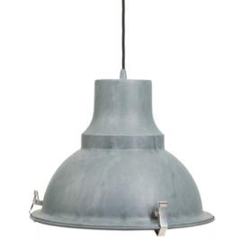 Industrie-Lampe Mento Ø 38,5 cm Grau