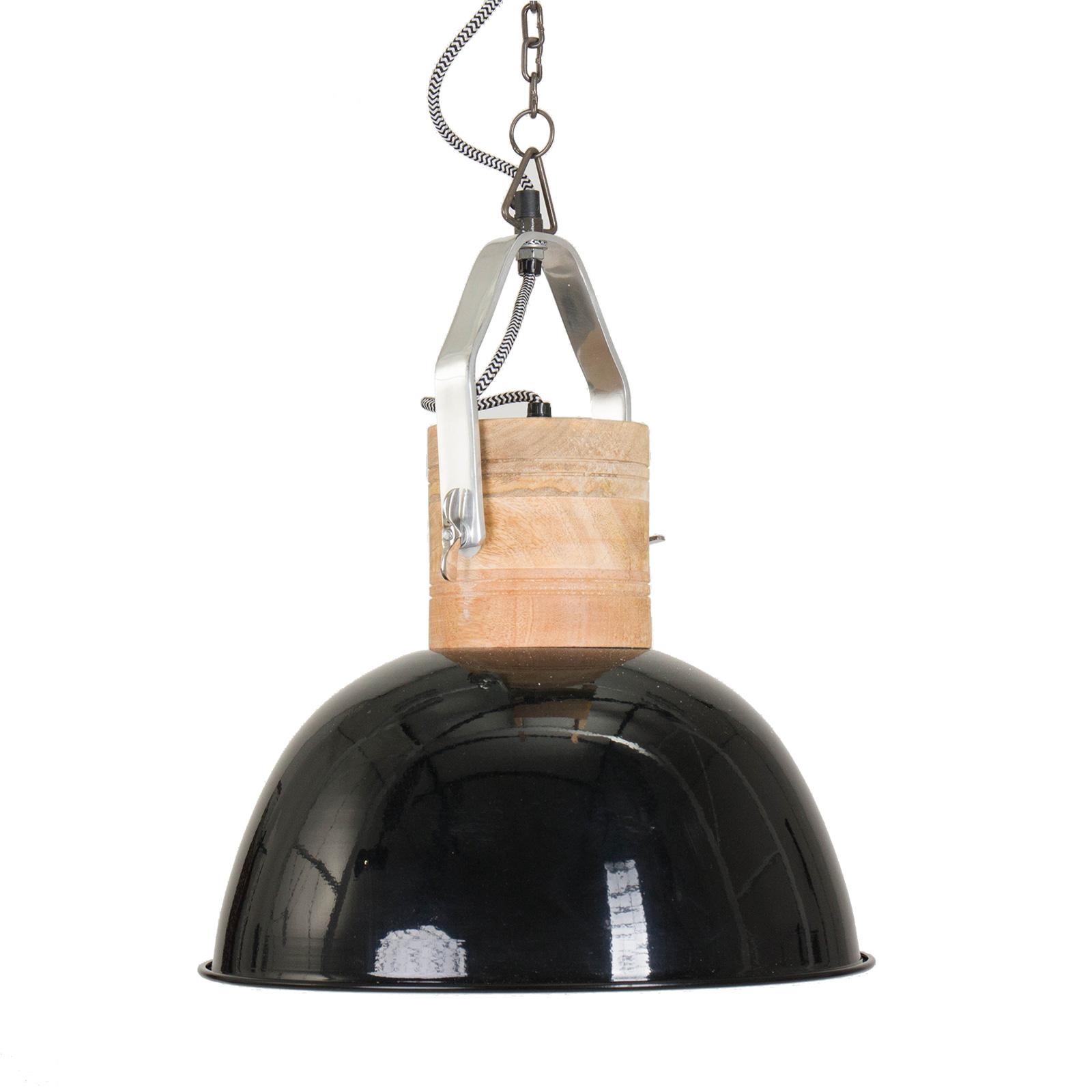 skandinavische h ngeleuchte tromson schwarz 35cm. Black Bedroom Furniture Sets. Home Design Ideas