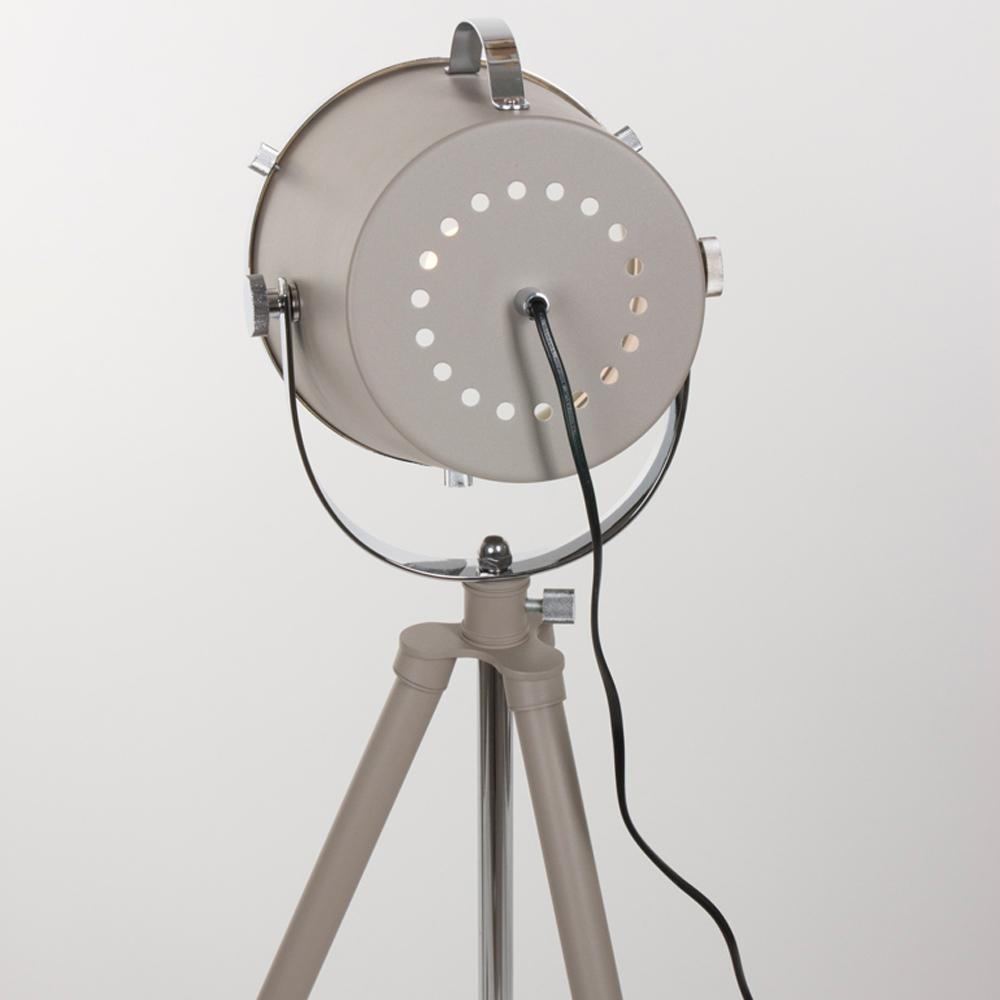 industrie stehlampe triangle in beige 21 cm. Black Bedroom Furniture Sets. Home Design Ideas
