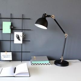 Industrielle Schreibtischlampe Do schwarz