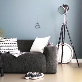 stehleuchten von industrielampe trendy billig. Black Bedroom Furniture Sets. Home Design Ideas
