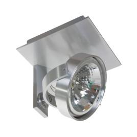 Industriewandspot kanan 1-Licht Stahl