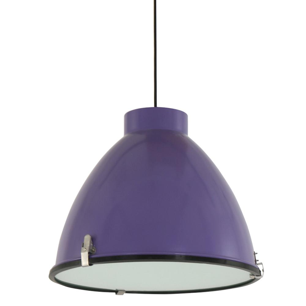 industrie h ngelampe stella 41 cm violett fabriklampe online. Black Bedroom Furniture Sets. Home Design Ideas
