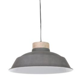 Industrie Hängelampe Jetvik grau ø34cm