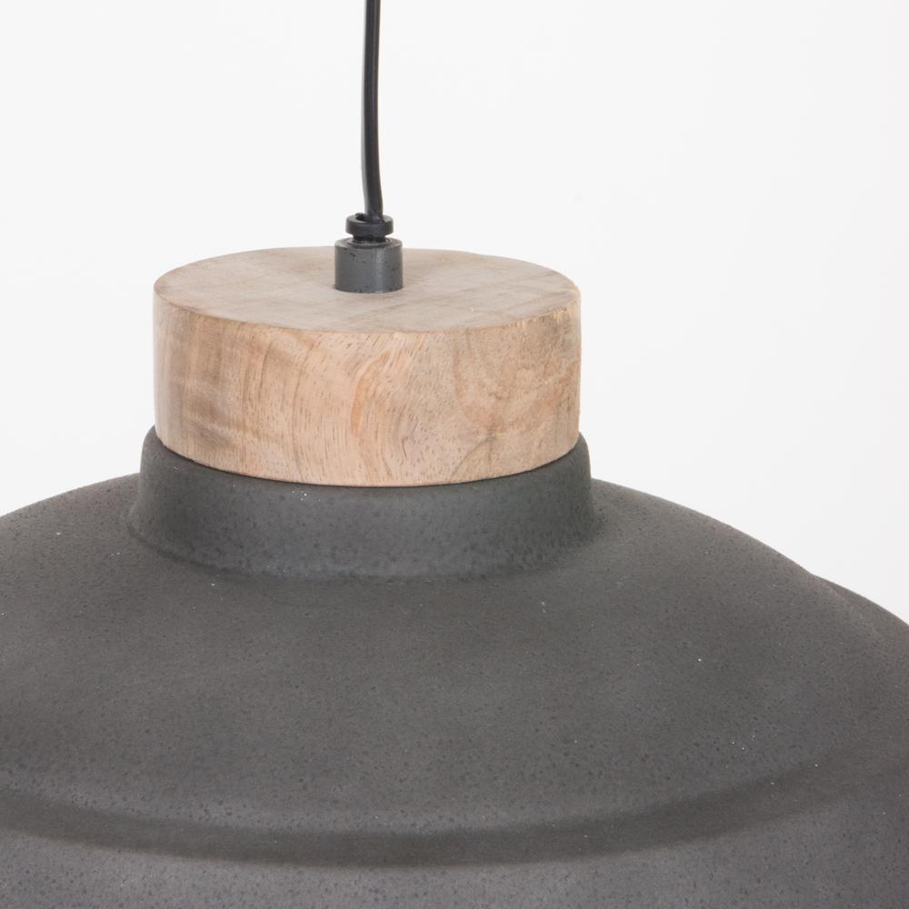 industrie h ngelampe jetvik grau 34cm fabriklampe online. Black Bedroom Furniture Sets. Home Design Ideas