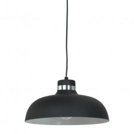 Industrie Retro Lampe Logan Schwarz