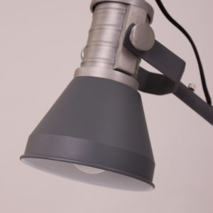 Schreibtischlampe grau