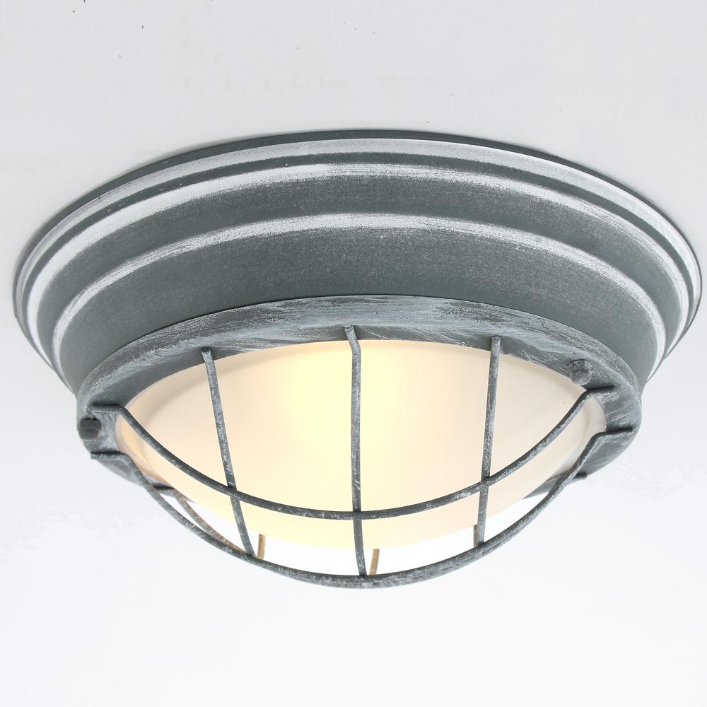industrie deckenleuchte omega 34 cm fabriklampe online. Black Bedroom Furniture Sets. Home Design Ideas