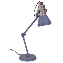 Robuste blaue Tischlampe Anne Brusk Ø16 cm