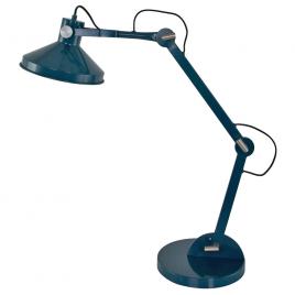 Industrielle Tischlampe Cayden in Petrol ø23 cm