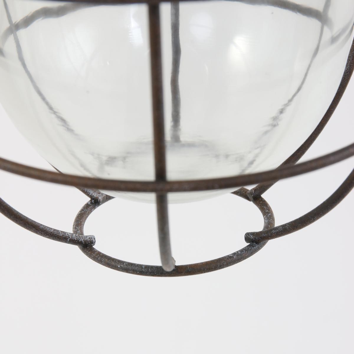 oldtimer lampe mistral braun 17 zentimeter fabriklampe online. Black Bedroom Furniture Sets. Home Design Ideas