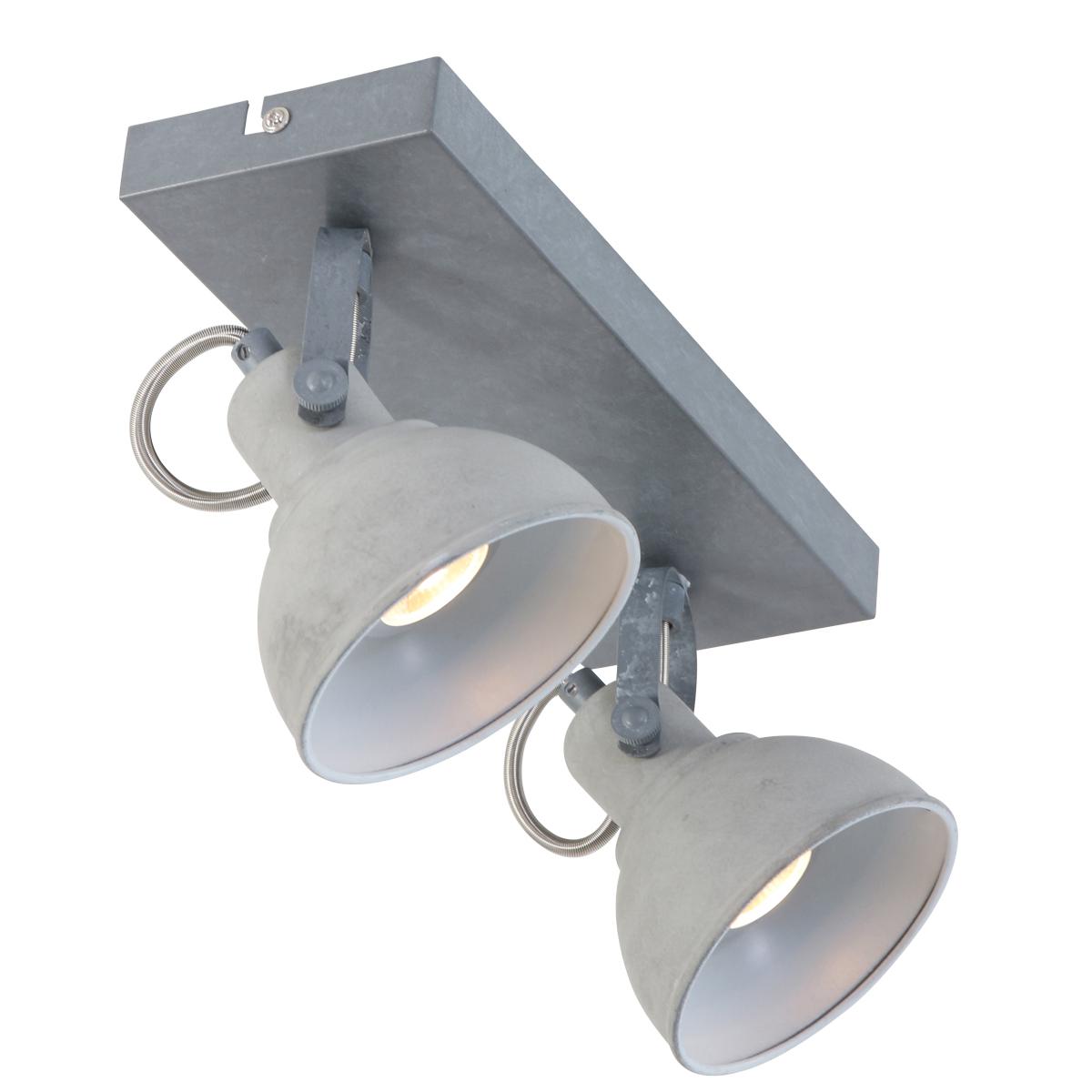 Plafondlamp-twee-spots
