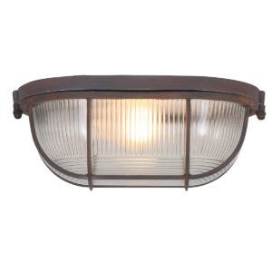 Rasterlampe braun