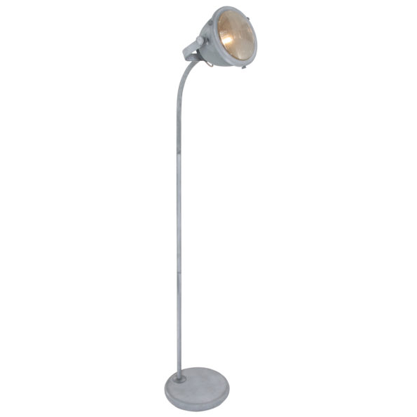 Stehlampe grau