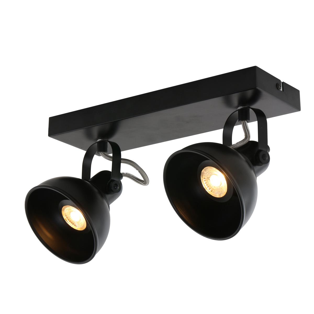Deckenleuchte Schwarz Lieke   Fabriklampe online