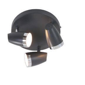 Moderne Deckenlampe Schwarz