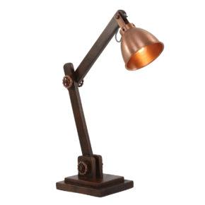 Tischlampe Kupfer