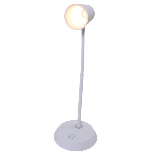 Tischlampe Weiß