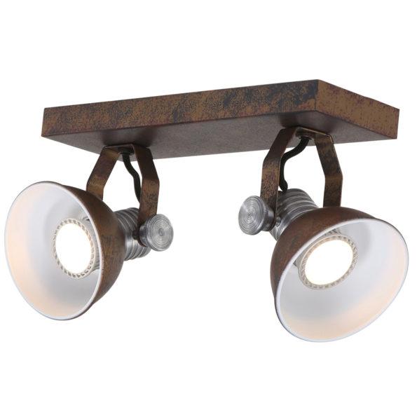 Wandlampe Braun