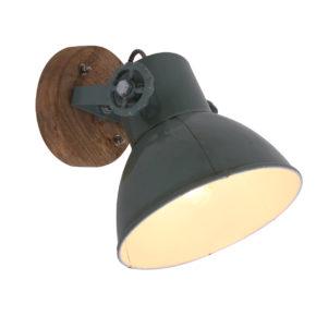 Wandlampe Grün