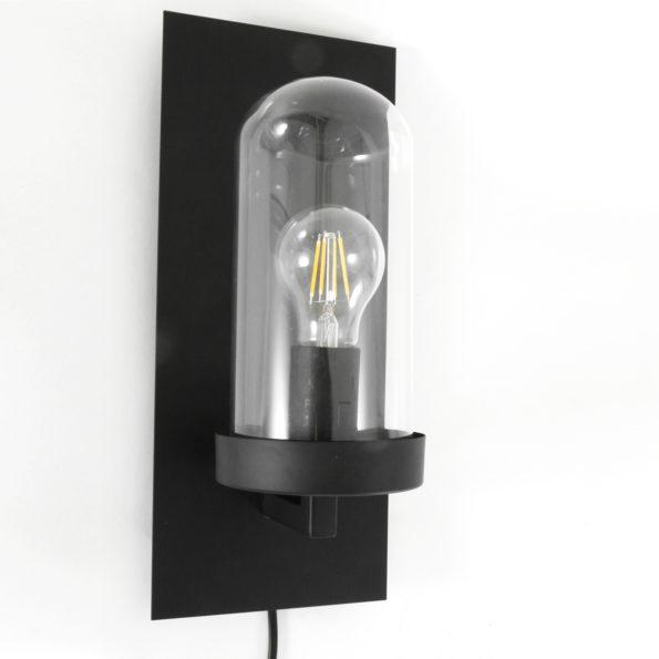 Wandlampe Schwarz